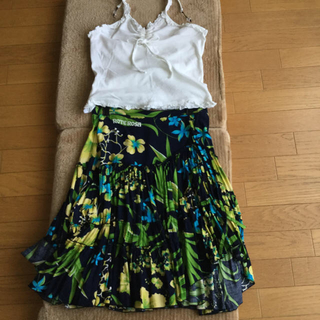 ROTEROSA フレアースカート(ひざ丈スカート)