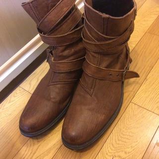 シュリセル(SCHLUSSEL)のブーツ 写真確認用(ブーツ)
