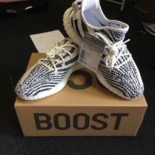 """アディダス(adidas)の27.5 adidas Yeezy Boost 350 V2 """"Zebra""""(スニーカー)"""