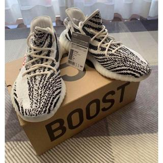 """アディダス(adidas)の28 adidas Yeezy Boost 350 V2 """"Zebra""""(スニーカー)"""