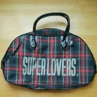 078c2c9870cce スーパーラヴァーズ(SUPER LOVERS)のSUPER LOVERS スーパーラヴァーズ ボストンバッグ チェック(ボストン