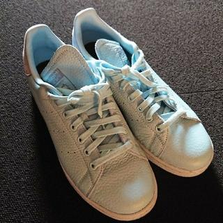 アディダス(adidas)のadidas・adidas stansmith・ライトブルー(スニーカー)