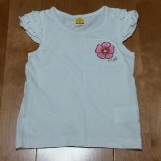 ムージョンジョン(mou jon jon)のみっきー様専用 白 ノースリーブ 90㎝ (80㎝)(Tシャツ/カットソー)