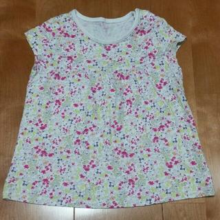 ユニクロ(UNIQLO)の小花柄 Tシャツ 90㎝(Tシャツ/カットソー)