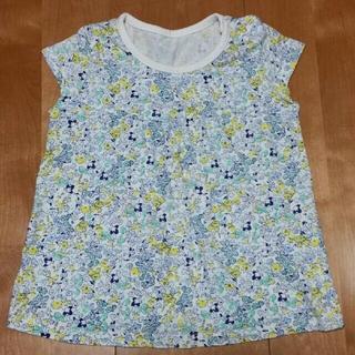 ユニクロ(UNIQLO)の小花柄 Tシャツ 80㎝(Tシャツ)