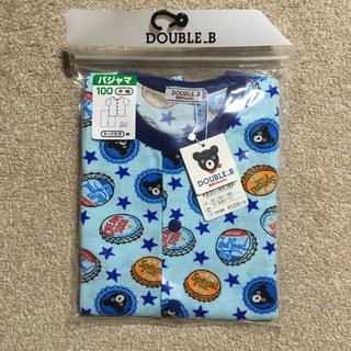 ダブルビー(DOUBLE.B)の新品未開封☆ダブルビー 半袖パジャマ サイズ100(パジャマ)