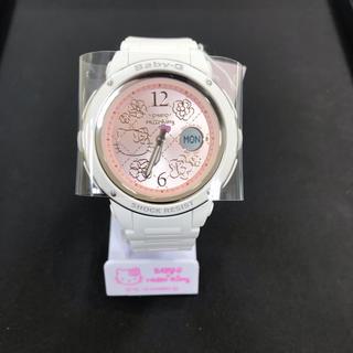ハローキティ(ハローキティ)のレア 限定品 CASIO babyGハローキティコラボ 新品未使用送料込(腕時計)