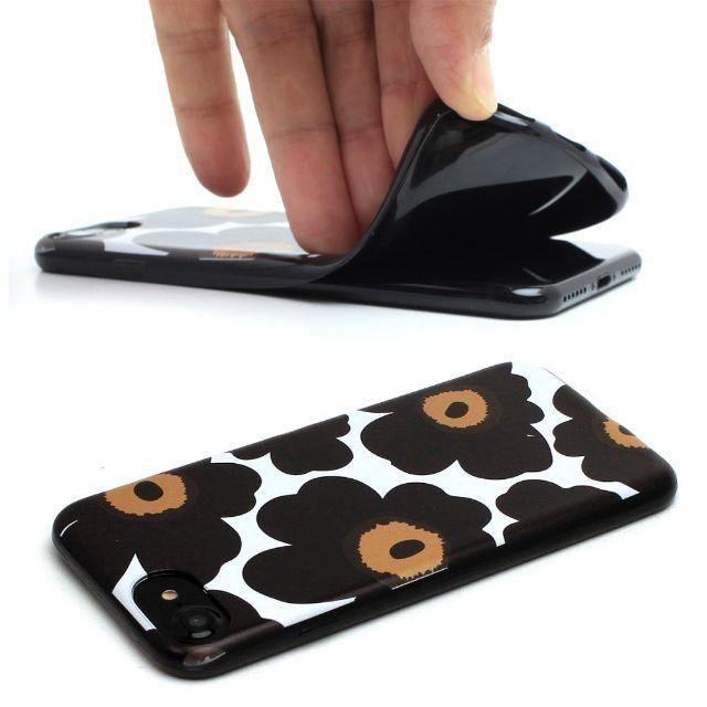 marimekko(マリメッコ)のaya様専用ページ♡マリメッコiPhone7ケース♡ブラック黒 スマホ/家電/カメラのスマホアクセサリー(iPhoneケース)の商品写真