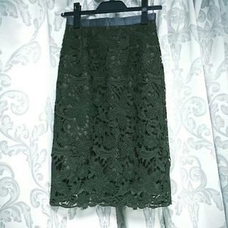 JUSGLITTY - 最終お値下げ「美品」ジャスグリッティー フラワーレーススカート