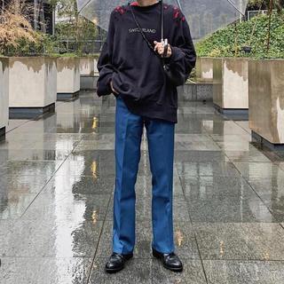 Wrangler - w31 wrangler wrancher dress jeans スラックス