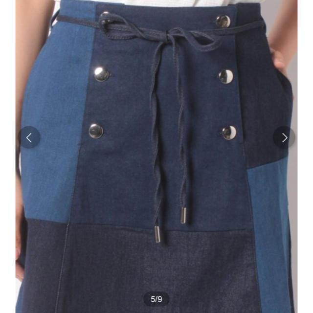 one after another NICE CLAUP(ワンアフターアナザーナイスクラップ)の♡ パッチワーク&アニマルスカート ♡ レディースのスカート(ミニスカート)の商品写真