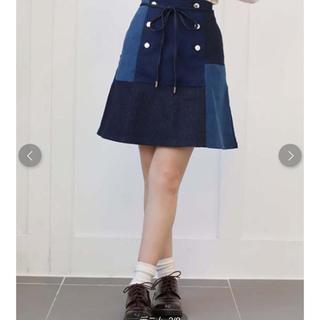 ワンアフターアナザーナイスクラップ(one after another NICE CLAUP)の♡ パッチワーク&アニマルスカート ♡(ミニスカート)