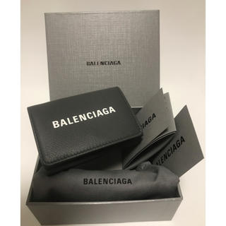 02e24c152e98 バレンシアガ(Balenciaga)の☆BALENCIAGA☆エブリデイ ロゴ レザー 三つ折り財布(財布
