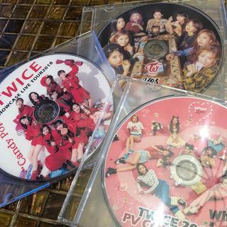 ウェストトゥワイス(Waste(twice))のtwice  DVD セット(ミュージック)