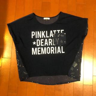 ピンクラテ(PINK-latte)のピンクラテ   Tシャツ  M (Tシャツ(半袖/袖なし))