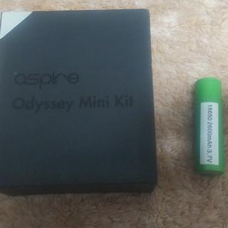 アスパイア(aspire)のVapeと電池(タバコグッズ)
