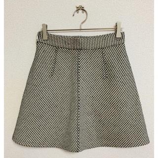ザラ(ZARA)のZARA スカート マルチカラー XS ブラック ピンク 水色 (ミニスカート)