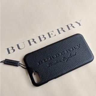 バーバリー(BURBERRY)のリアム9608さま専用【新品】BURBERRY iPhoneケース ブラック(iPhoneケース)