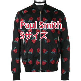 ポールスミス(Paul Smith)の新品 Sサイズ ポールスミス ジャケット ストロベリースカル 黒 ブルゾン(ブルゾン)