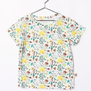 ハコ(haco!)の★新品★ハコ! オーガニックコットン 半袖シャツ 100(Tシャツ/カットソー)
