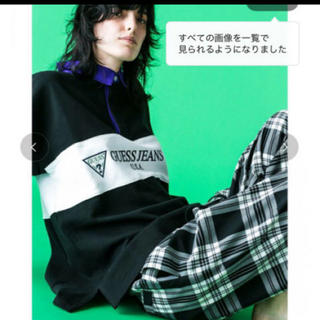 ゲス(GUESS)のguess monkeytime別注ラガーシャツ(ポロシャツ)