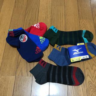 アディダス(adidas)の値下げ‼️スポーツブランドソックス 23〜25//adidas MIZUNO(ソックス)