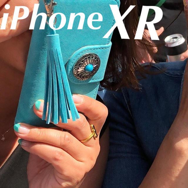 ばいきんまん様専用 iPhoneXR お洒落なターコイズブルーの通販 by Paulista's shop|ラクマ