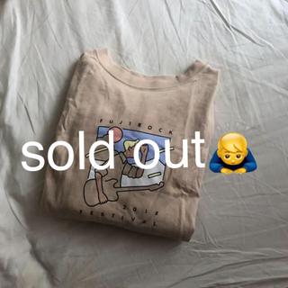 ビームスボーイ(BEAMS BOY)のビームス beamsboy Tシャツ FUJIROCK(Tシャツ(半袖/袖なし))