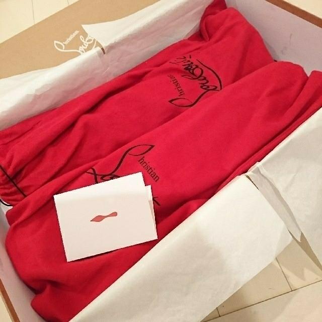 Christian Louboutin(クリスチャンルブタン)の新品未使用♡Christian Louboutin✧︎*ロングブーツ レディースの靴/シューズ(ブーツ)の商品写真