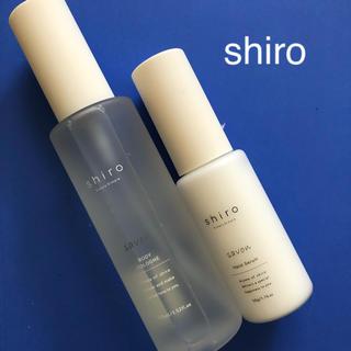 シロ(shiro)のshiro  シロ サボン☆ボディコロン100mL&ハンド美容液 50g(ハンドクリーム)