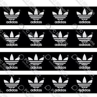 アディダス(adidas)のアディダスロゴ グログランリボン(生地/糸)
