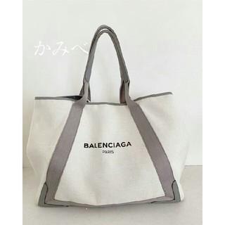 d431b34af28b バレンシアガ(Balenciaga)の希少カラー グレー BALENCIAGA トートバッグ Lサイズ ポーチつき(