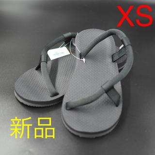 モンベル(mont bell)のXS 完売 モンベル ソックオンサンダル 黒(サンダル)