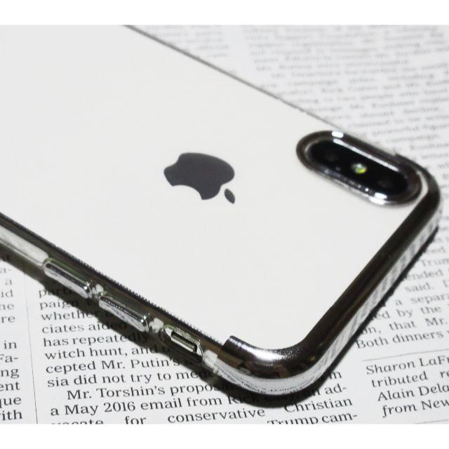 leplus iphone8 ケース - iPhoneXs MAX 最新TPUクリアケース(Silver)薄型スリムカバーの通販 by まお's shop|ラクマ