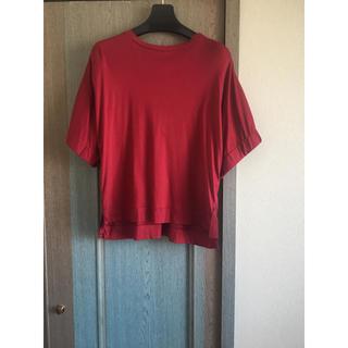 エンフォルド(ENFOLD)のエレンディーク ELENDEEL カラーカットソー ラッフルTシャツ(Tシャツ(半袖/袖なし))