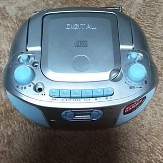 KOIZUMI - ラジカセ,CDカセットラジオが利用できますコード電池両用コンパクトで置き場自由