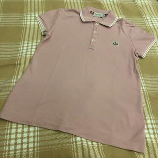 モンクレール(MONCLER)のMoncler ポロシャツ ピンク(ポロシャツ)