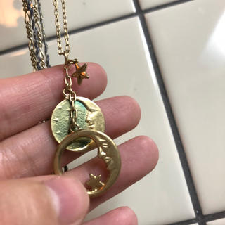 フランシュリッペ(franche lippee)の月のネックレス(ネックレス)
