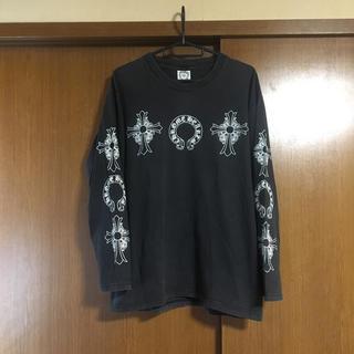 クロムハーツ(Chrome Hearts)のクロムハーツ♡プリントスリーブロングTシャツ(Tシャツ/カットソー(七分/長袖))