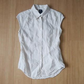ギャップ(GAP)のノースリーブシャツ (シャツ/ブラウス(半袖/袖なし))
