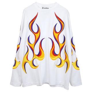 ワンオクロック(ONE OK ROCK)のEtudes Studio taka DESERT FLAMING TEE(Tシャツ/カットソー(七分/長袖))