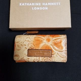 キャサリンハムネット(KATHARINE HAMNETT)の新品未使用☆KATHARINE HAMNETT キーケース(キーケース)