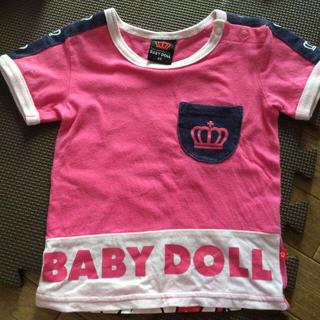 ベビードール(BABYDOLL)のベビードール  80  Tシャツ(Tシャツ)