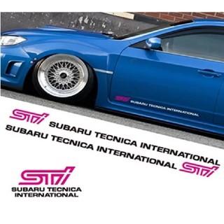 スバル(スバル)のスバル STI ステッカー(車外アクセサリ)