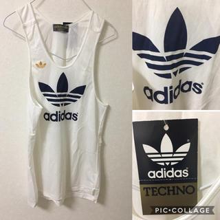 アディダス(adidas)のアディダス adidas タンクトップ  新品 未使用 デッドストック(Tシャツ/カットソー(半袖/袖なし))