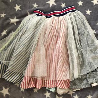 ブリーズ(BREEZE)のBREEZE 140 チュールスカート(スカート)