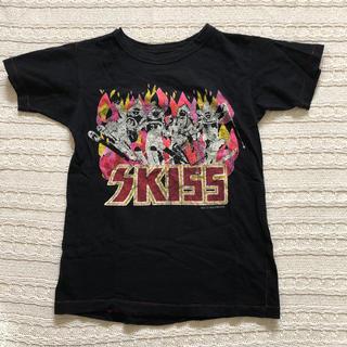 ゴートゥーハリウッド(GO TO HOLLYWOOD)のゴートゥーハリウッド SKISS Tシャツ黒 140(Tシャツ/カットソー)