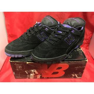 ニューバランス(New Balance)の★90s!希少レア!ニューバランス SC609BK 黒/紫 スエード❶★(スニーカー)