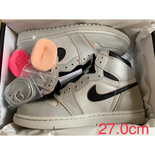 ナイキ(NIKE)のNIKE AJ1 HIGH OG DEFIANT  NYC TO PARIS (スニーカー)