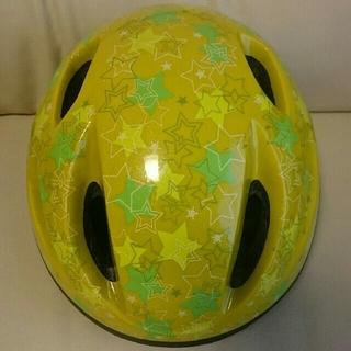 ブリヂストン(BRIDGESTONE)のブリヂストン ヘルがも キッズヘルメット/46~52㎝(ヘルメット/シールド)